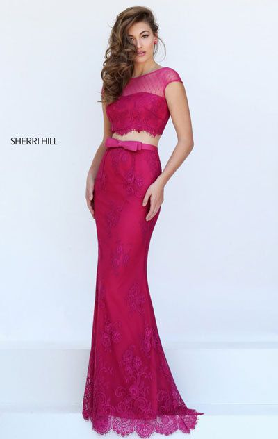 Evening Dresses 2018 For Sherri Hill 50334 Plum - homecoming dresses ...