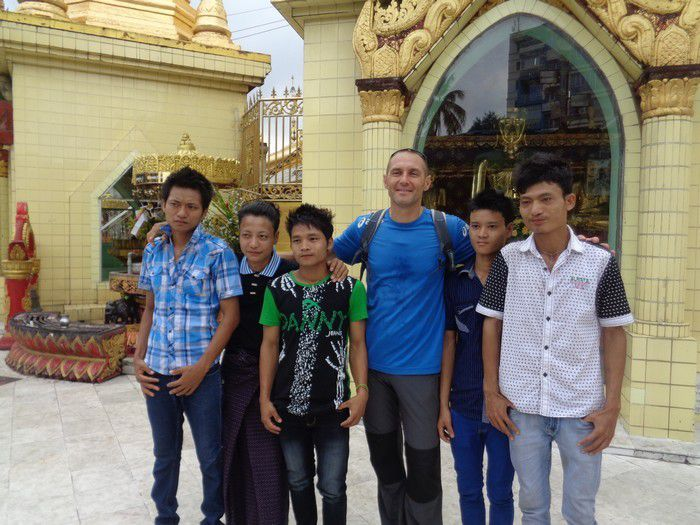 Welcome to Myanmar !