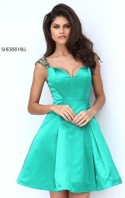 73c6886214b Sherri Hill 50548 Emerald And Red And Royal And Turquoise Prom Dresses  Affordable. October 18 2017