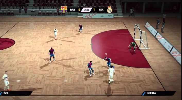 test de FIFA Street 5 PSP