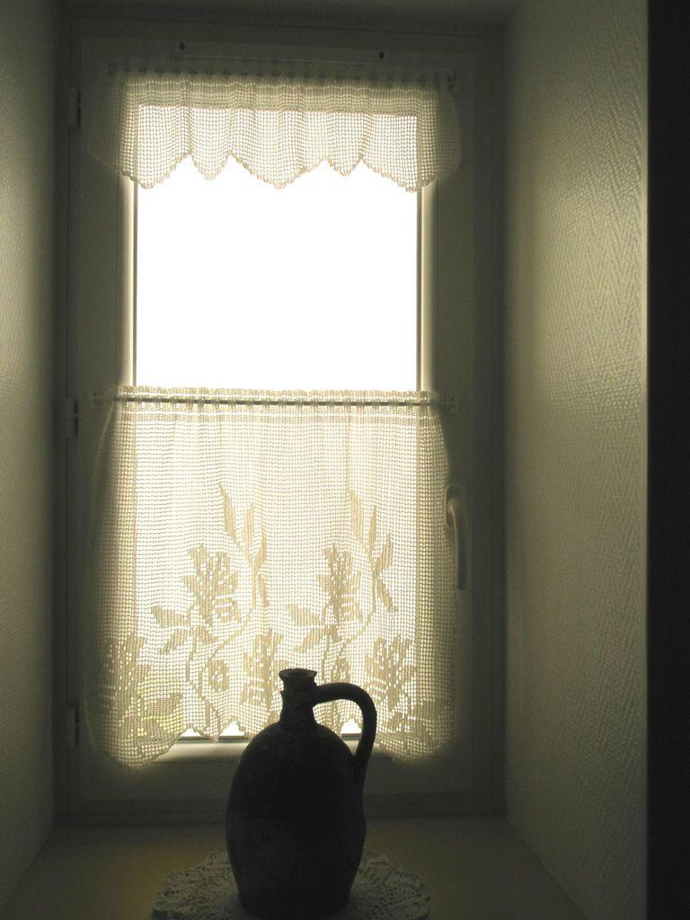 rideaux crochet de l'entrée