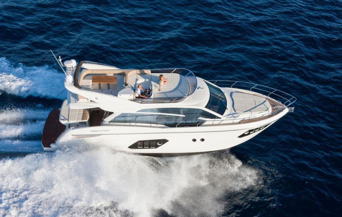 Absolute Yachts launches two new vessels with Volvo Penta IPS