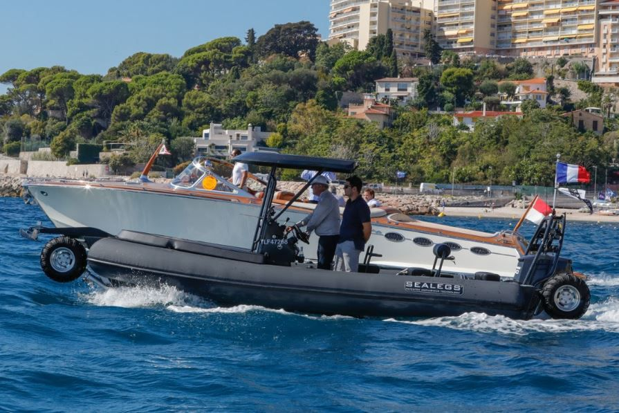 Partnership between Sealegs and J Craft for an amphibious craft