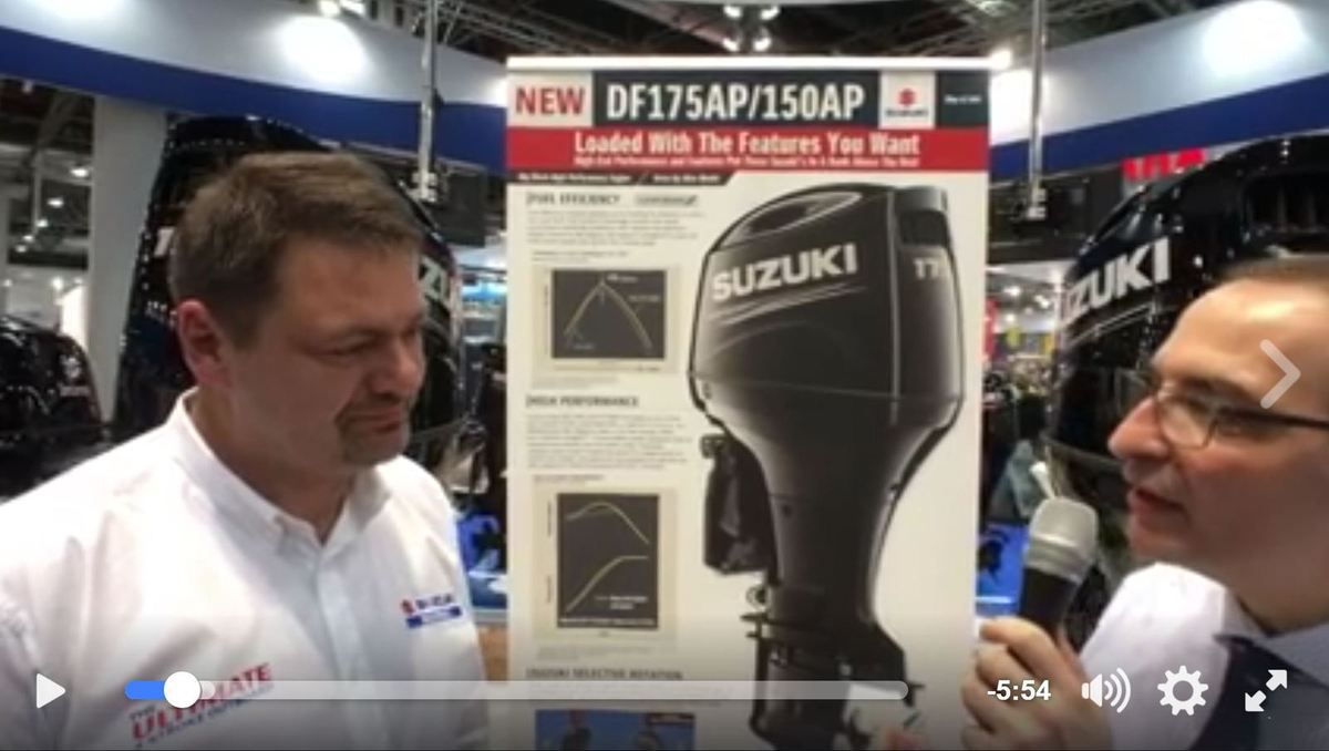 Live from BOOT - 2 new outboard engines by Suzuki Marine - Yachting