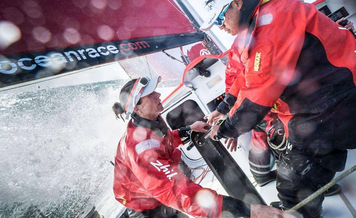 Volvo Ocean Race 2017-2018 - Carolijn Brouwer and Marie Riou join Dongfeng Race Team
