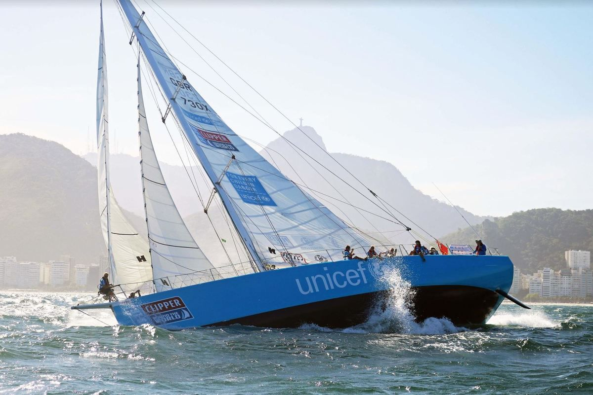 Unicef UK gifted a team entry in the Clipper Round the World Yacht Race