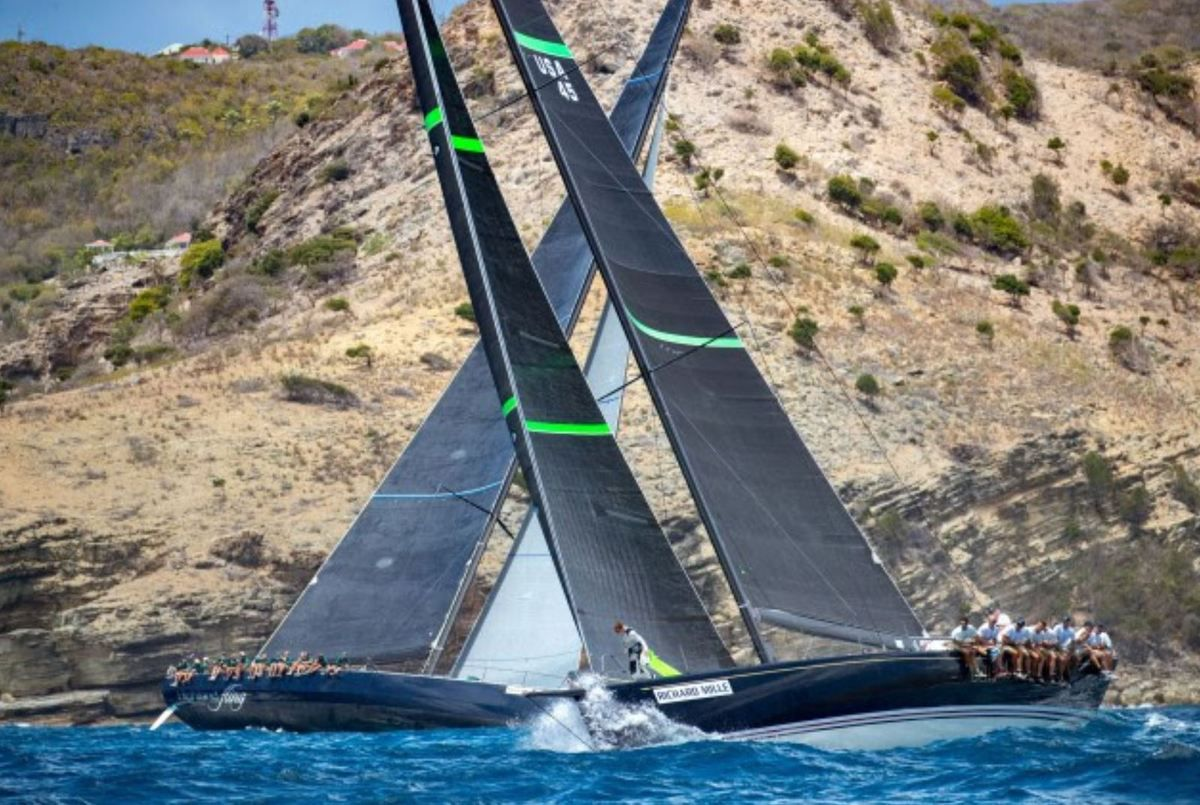 Les Voiles de Saint Barth - Day One Battles Set Stage For Competitive Week Ahead