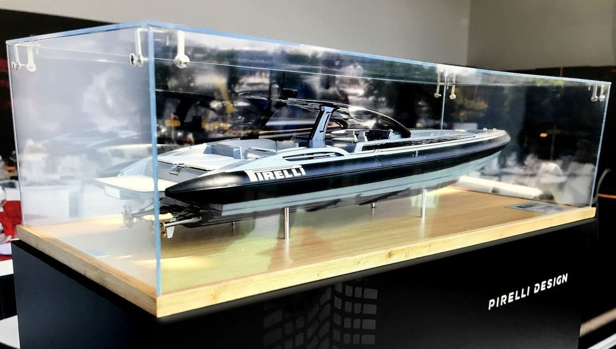 Pirelli 1900 by Tecnorib to be launched at Cannes Yachting Festival