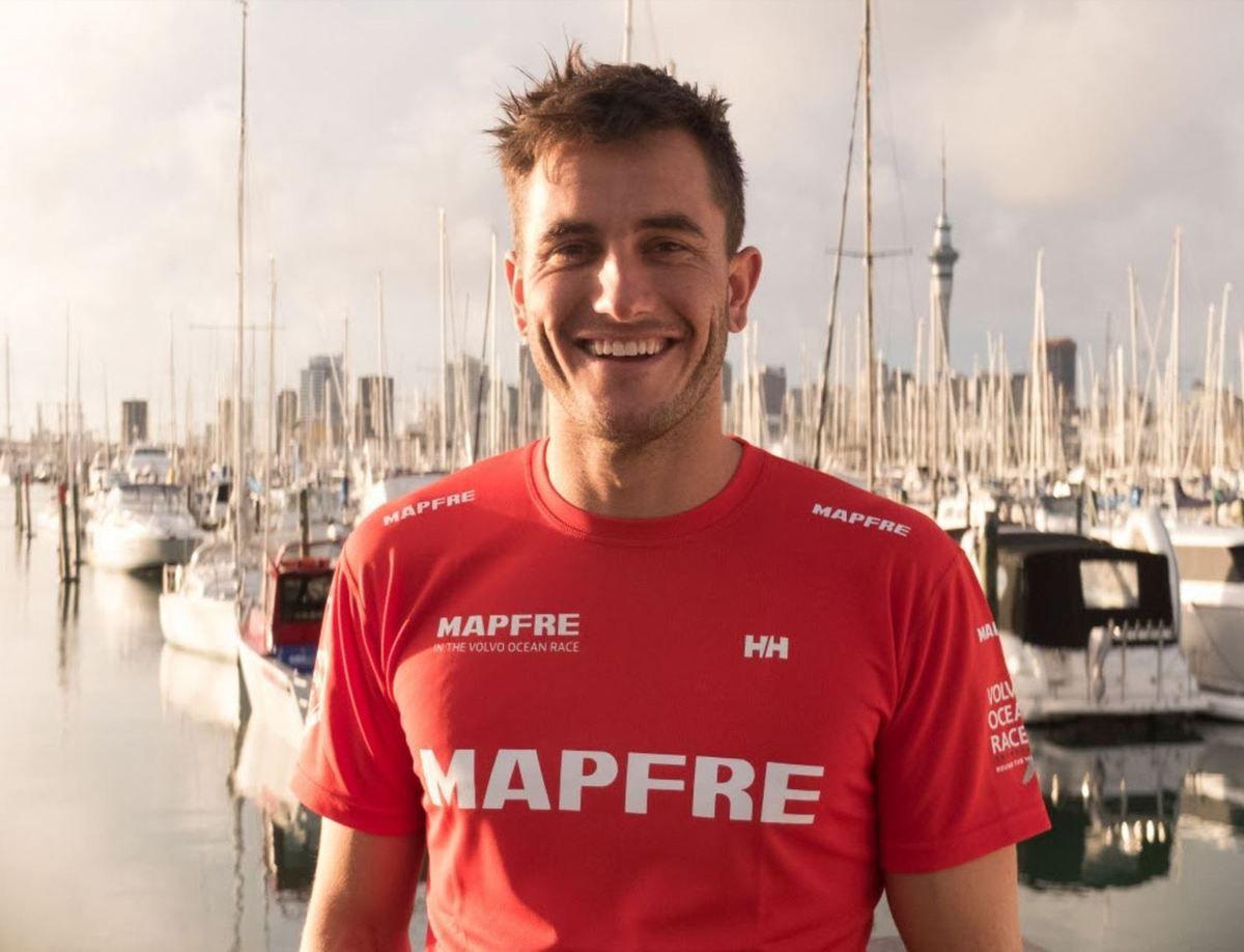 Olympic champion Blair Tuke joins MAPFRE in the Volvo Ocean Race
