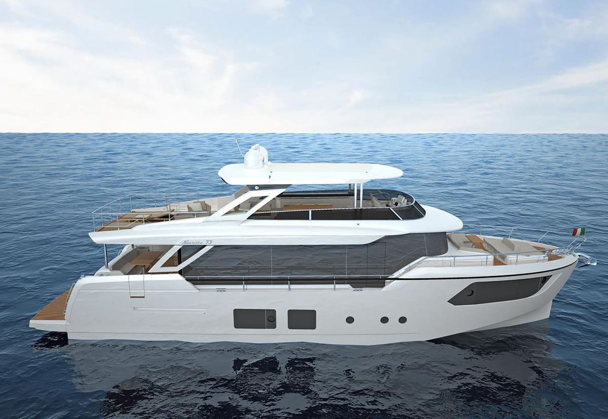 Navetta 73, by Absolute Yachts
