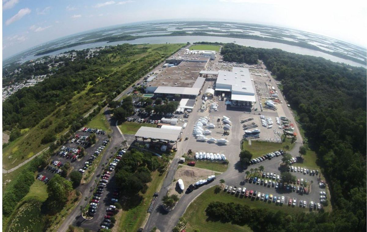 Major facilty expansion for Boston Whaler in Edgewater (Florida)