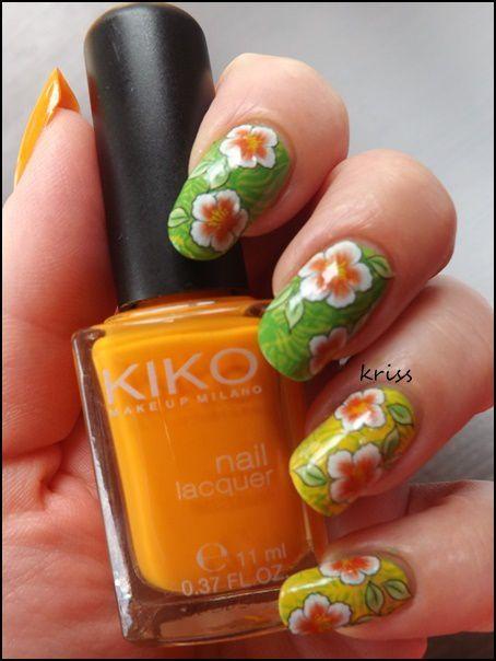 Orange flowers et sa bague