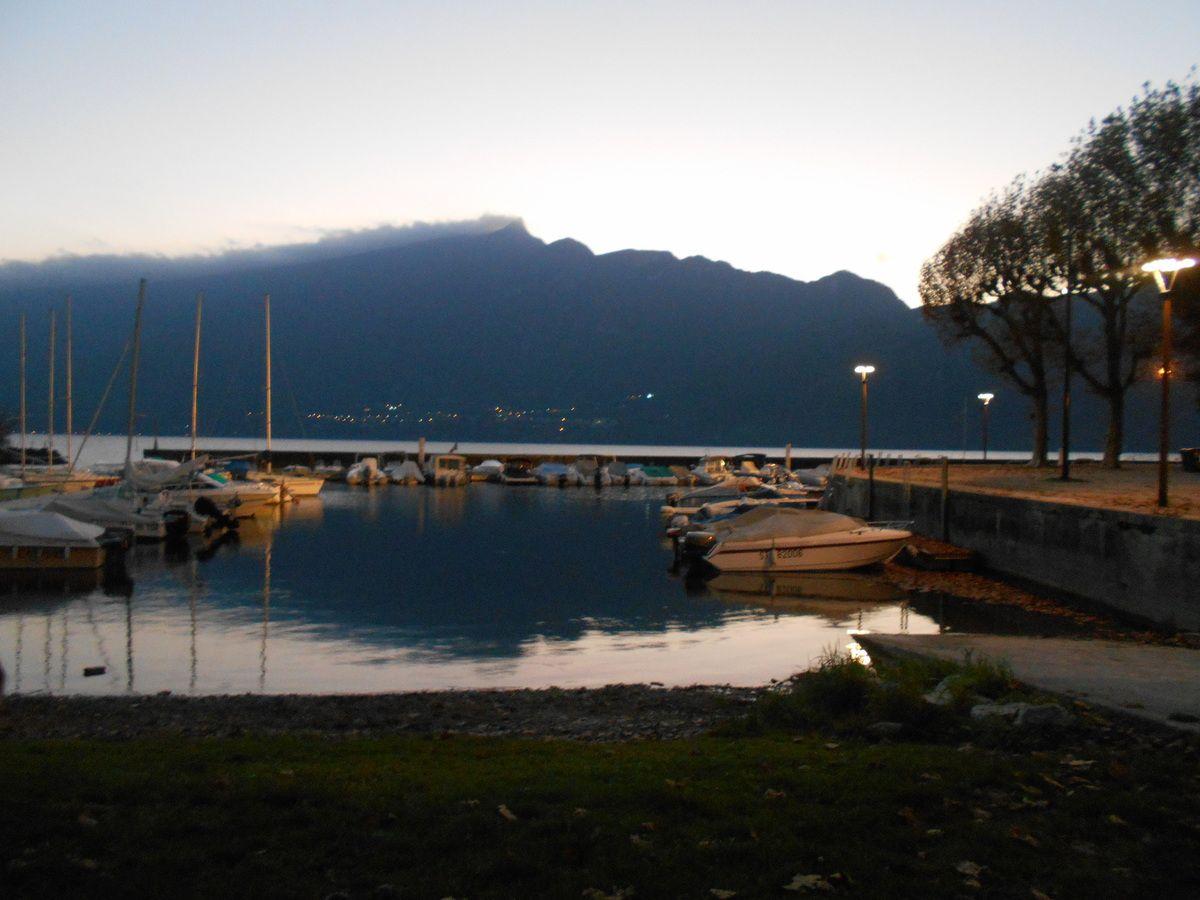 Aix-Les-Bains, le bord du lac...