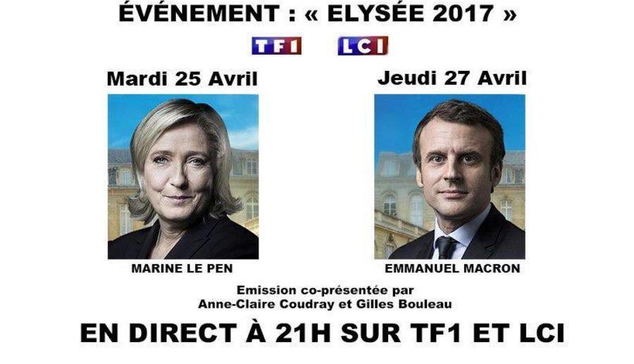 Elysée 2017 avec Emmanuel Macron, ce jeudi à 21h sur TF1