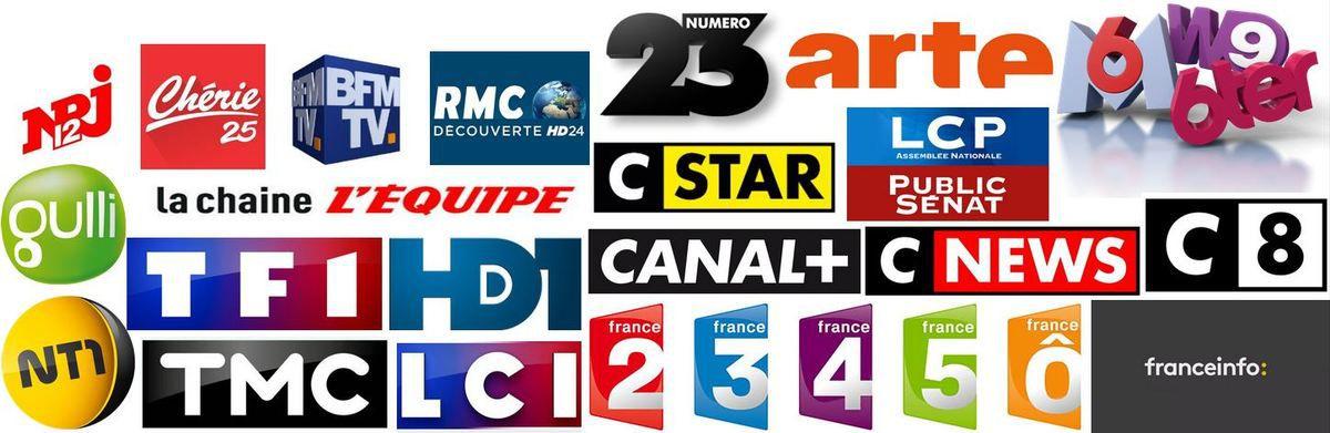 Audiences hebdos du 22 au 28/05/17: TF1 à 20%. Fr2 s'effondre. M6 au plus bas. Fr3 faible. TMC au plus haut.