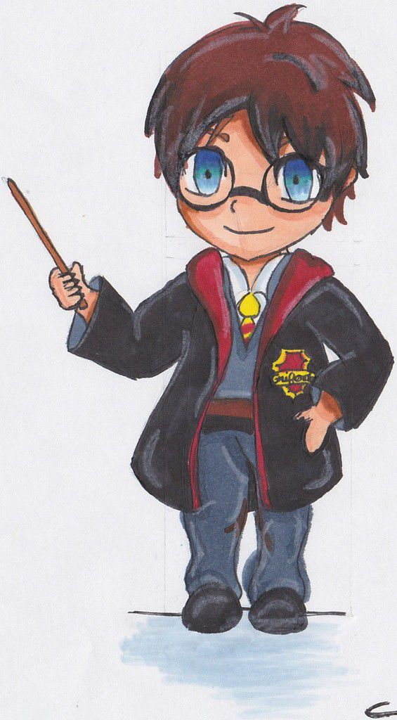 how to draw harry potter& 39