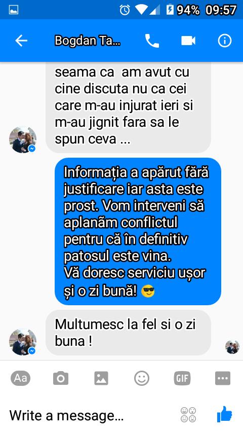 Un absolvent al Școli de Jandarmi de la Fălticeni îl jignește pe liderul taximetriștilor anti-uber