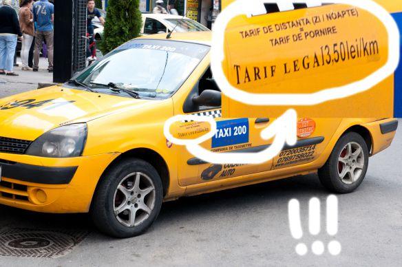 Pseudo-taxiurile o formă gravă de furt de identitate, intelectual și de imagine