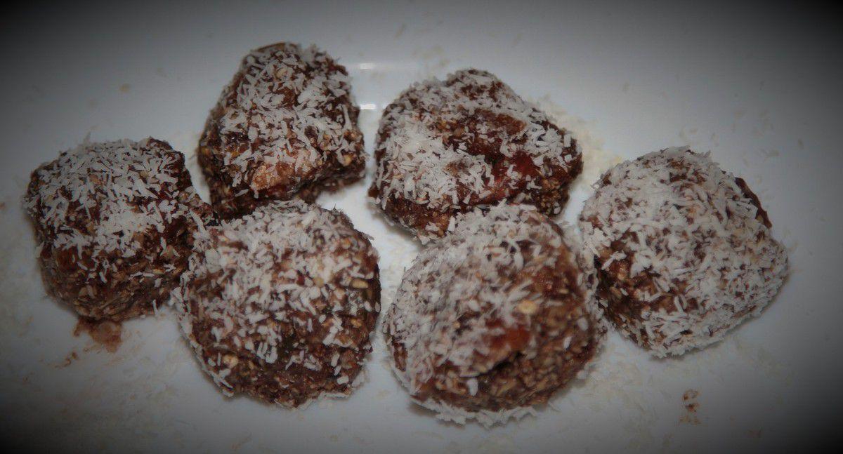 Rochers crus choco-coco