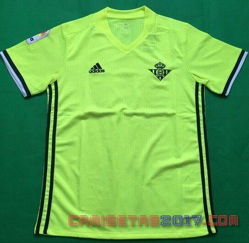 camisetas de  2017 futbol baratas |Noeva camiseta Real Betis 2017