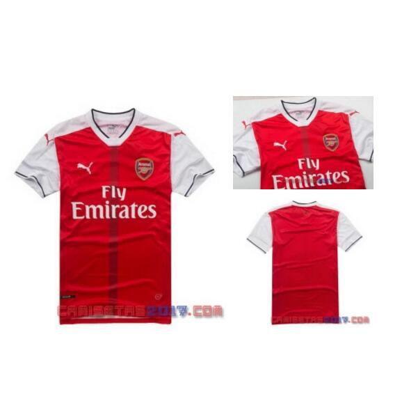 precio más bajo camisetas de futbol 14.9€|Comprar camisetas baratas de futbol en línea| camiseta de Arsenal 2017