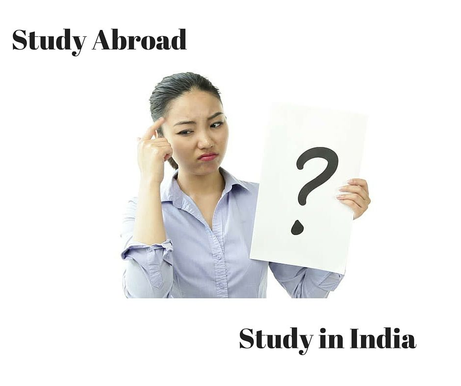 Studying abroad vs studying locally