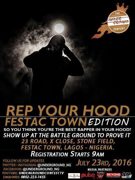FREESTYLE STREET BATTLE CONTEST TO SCOUT FOR RAPPERS