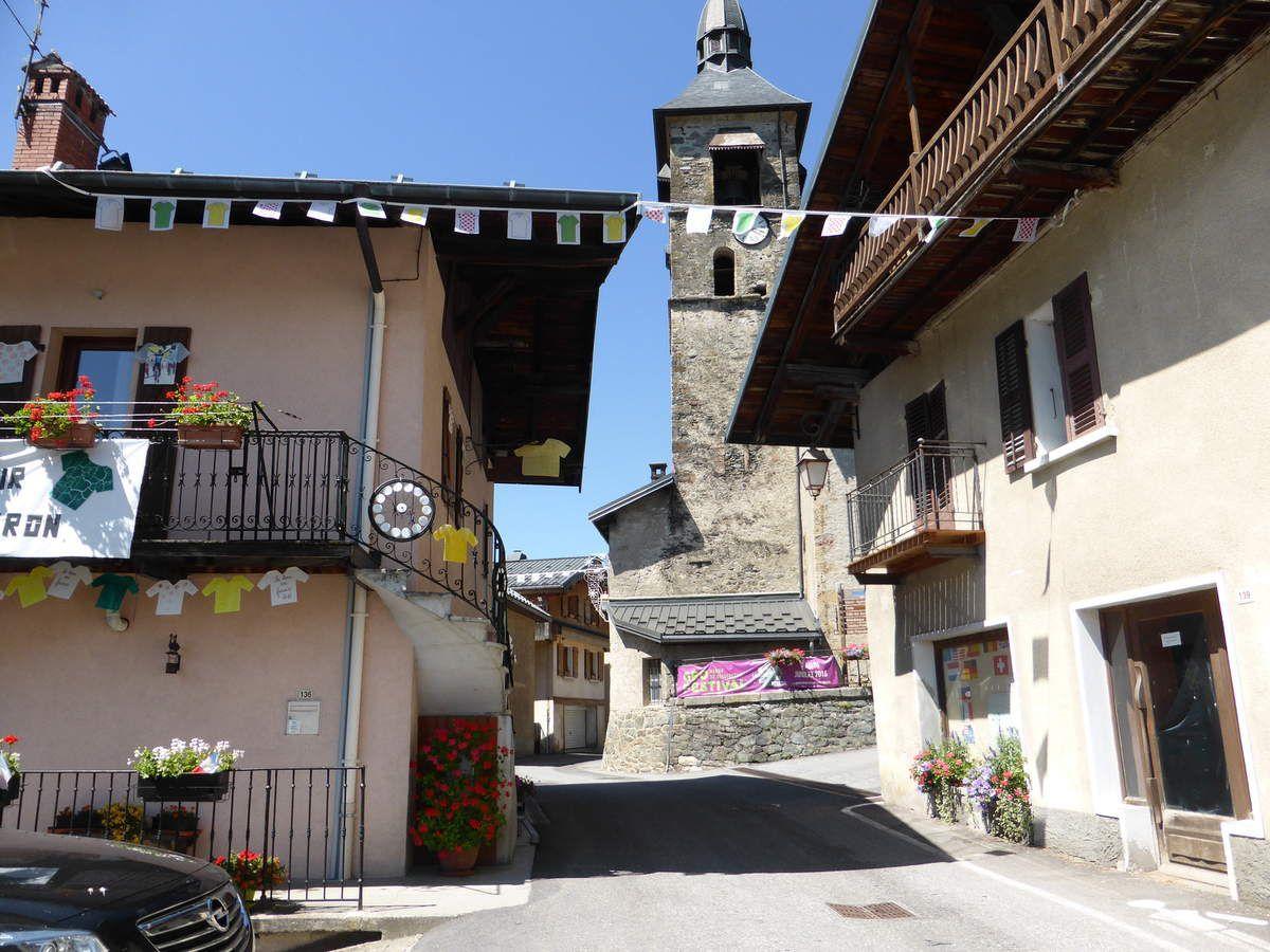 Villard sur Doron - L'église Saint Pierre