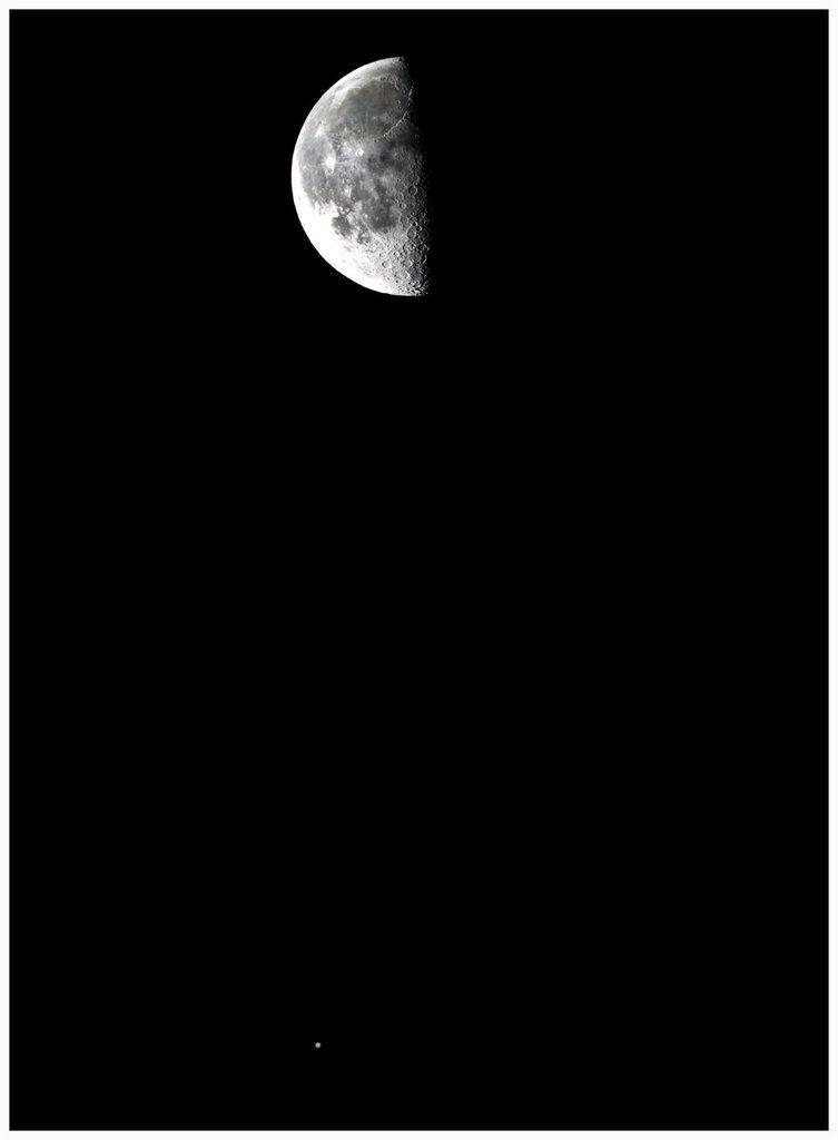 La Lune rend visite à Jupiter
