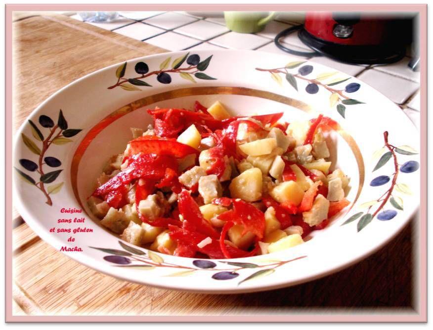 Salade de pommes de terre et fonds d'artichauts
