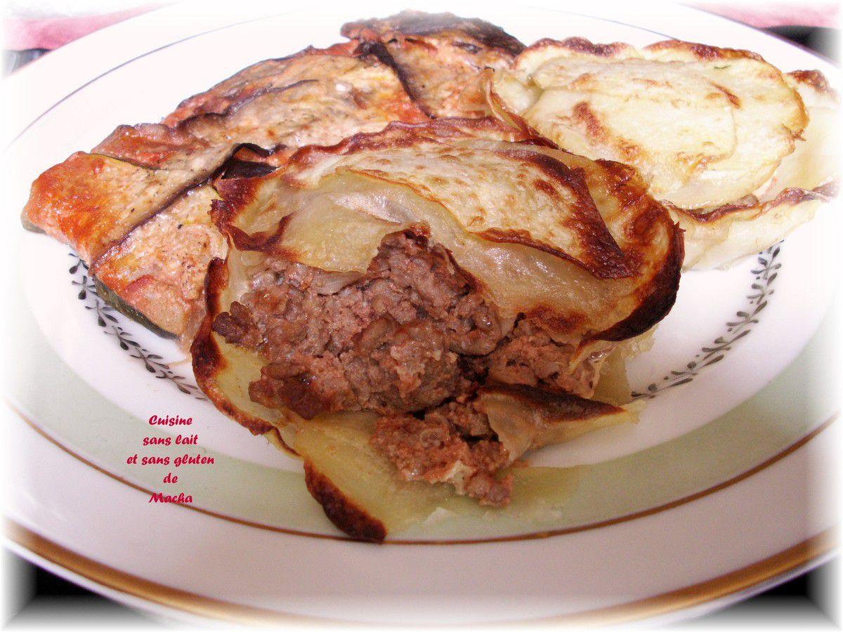 Feuilletés de pomme de terre à la viande