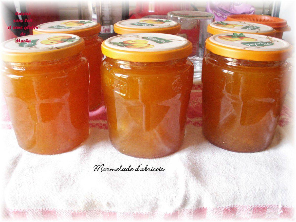 Marmelade d'abricots