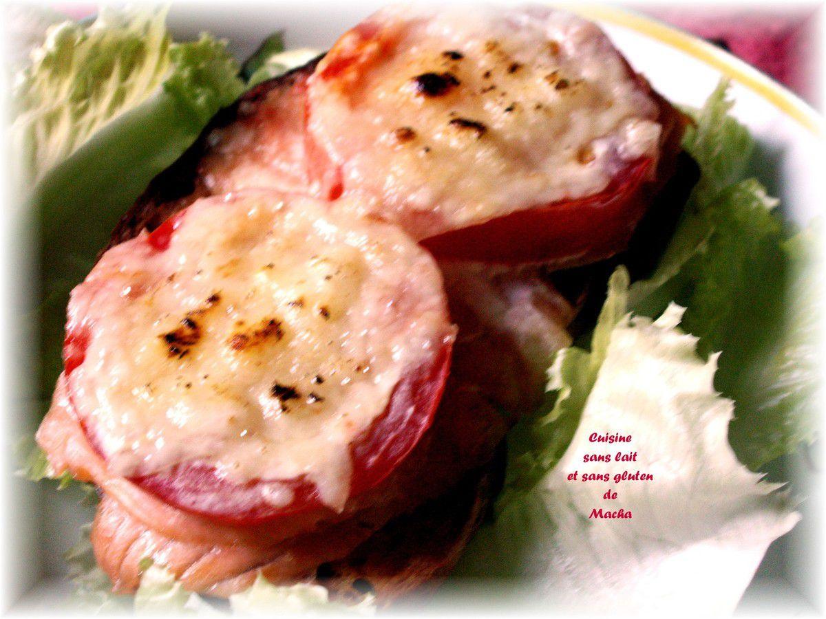 Tartine au saumon