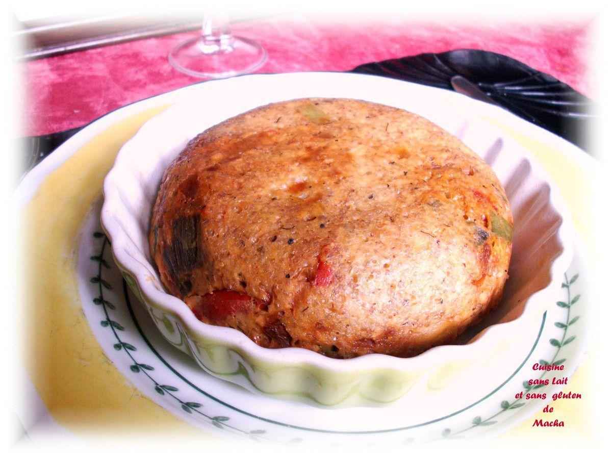 Galette de quinoa aux poireaux et saumon à l'aneth