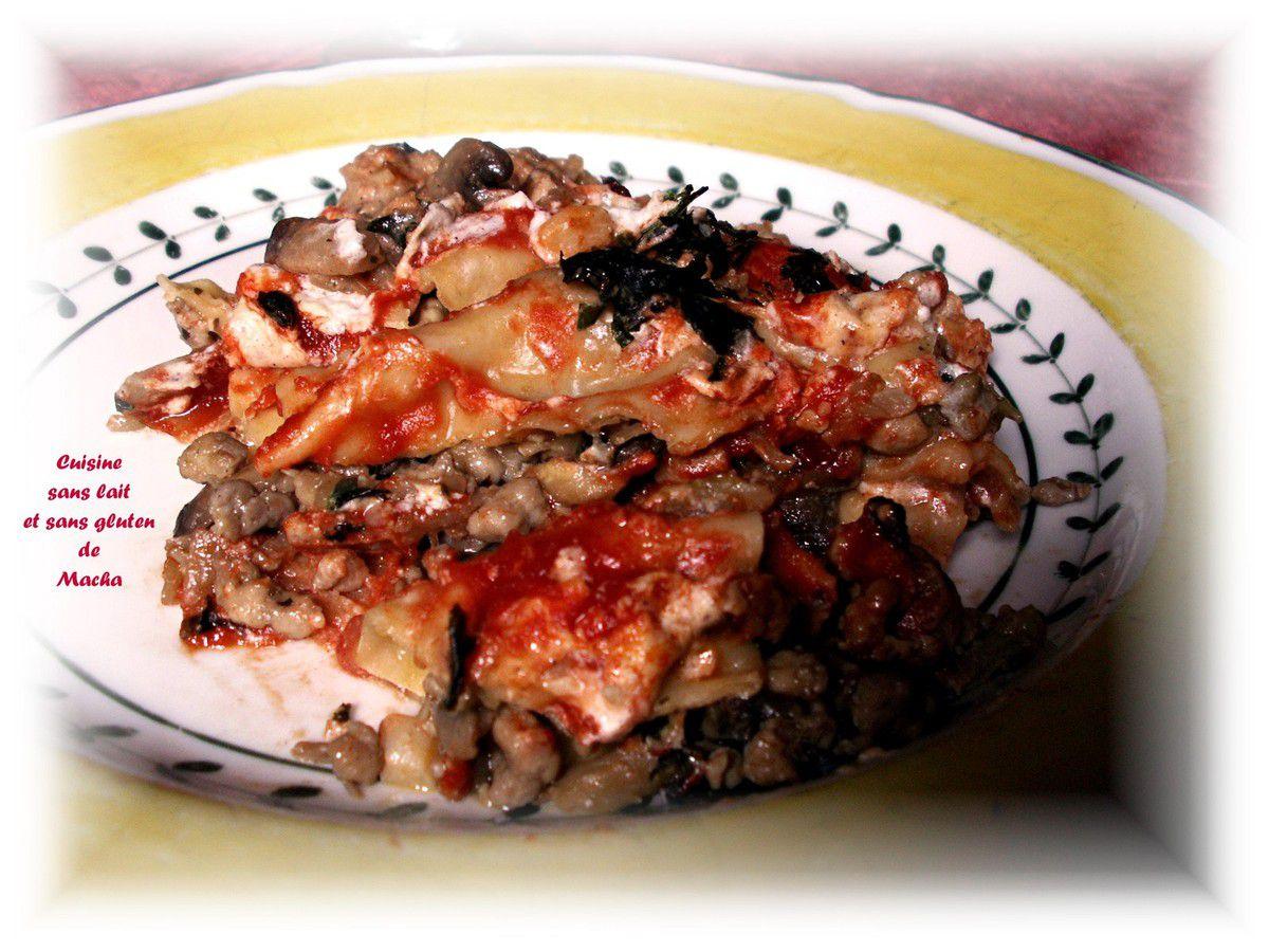 Cannellonis au filet mignon de  porc, champignons à la crème