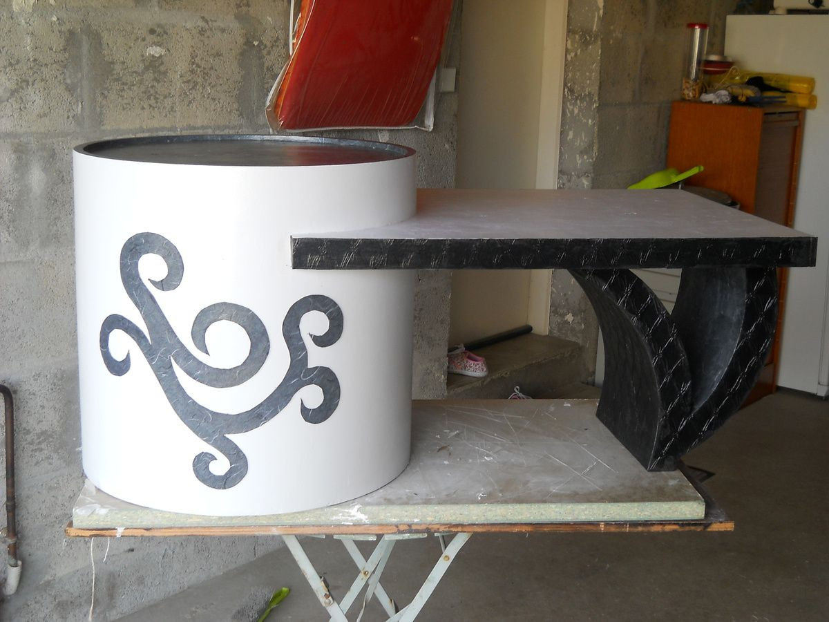 les meubles en carton l 39 choppe d 39 aibell. Black Bedroom Furniture Sets. Home Design Ideas