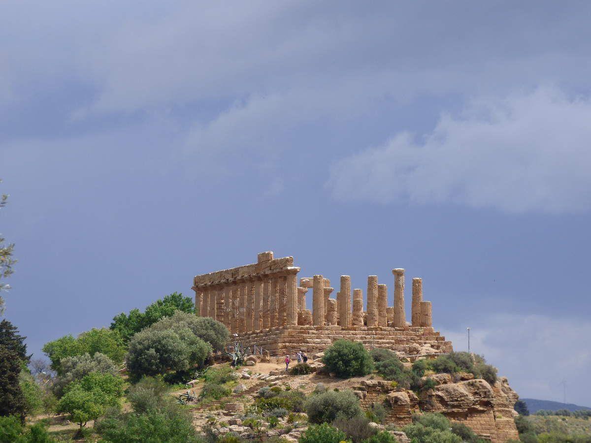 le temple de Junon