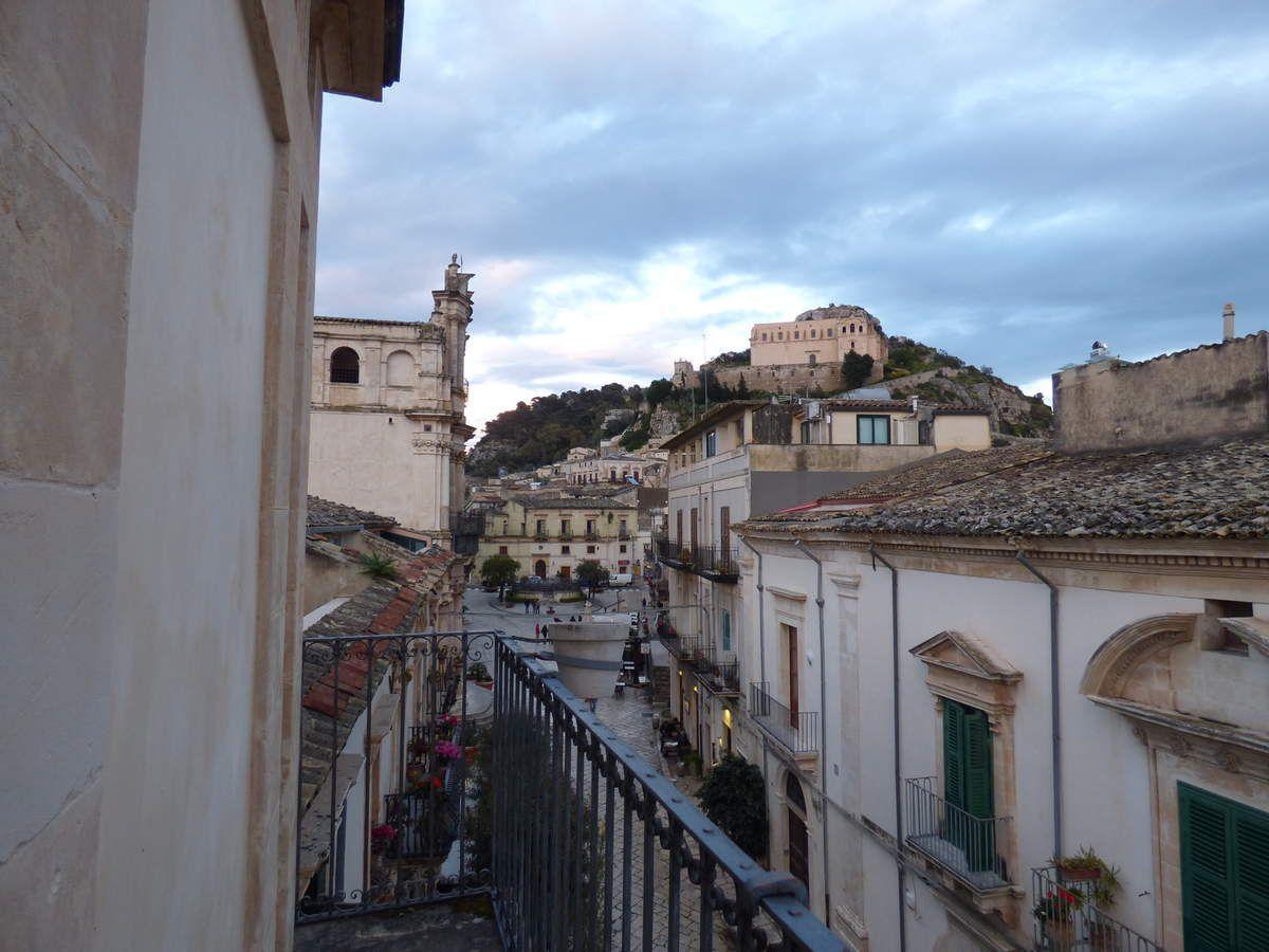 Sicile : le sud est : la jolie ville de Scicli