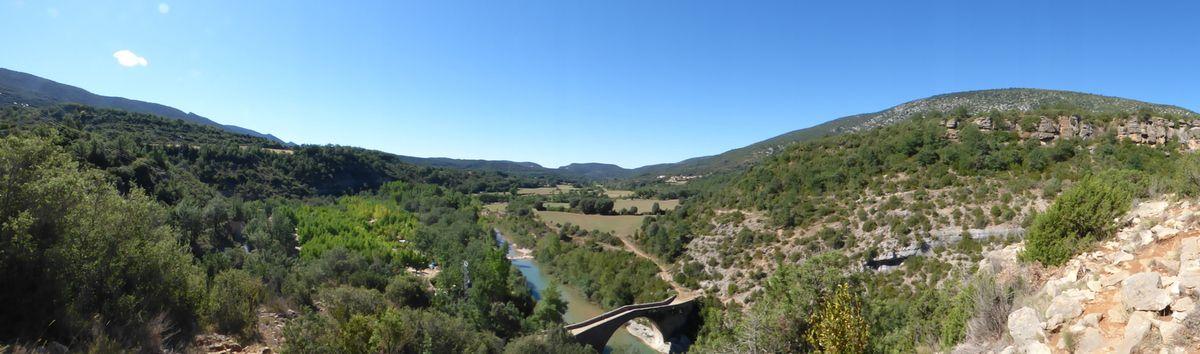 Quelques mètres au-dessus du camping El Puenté