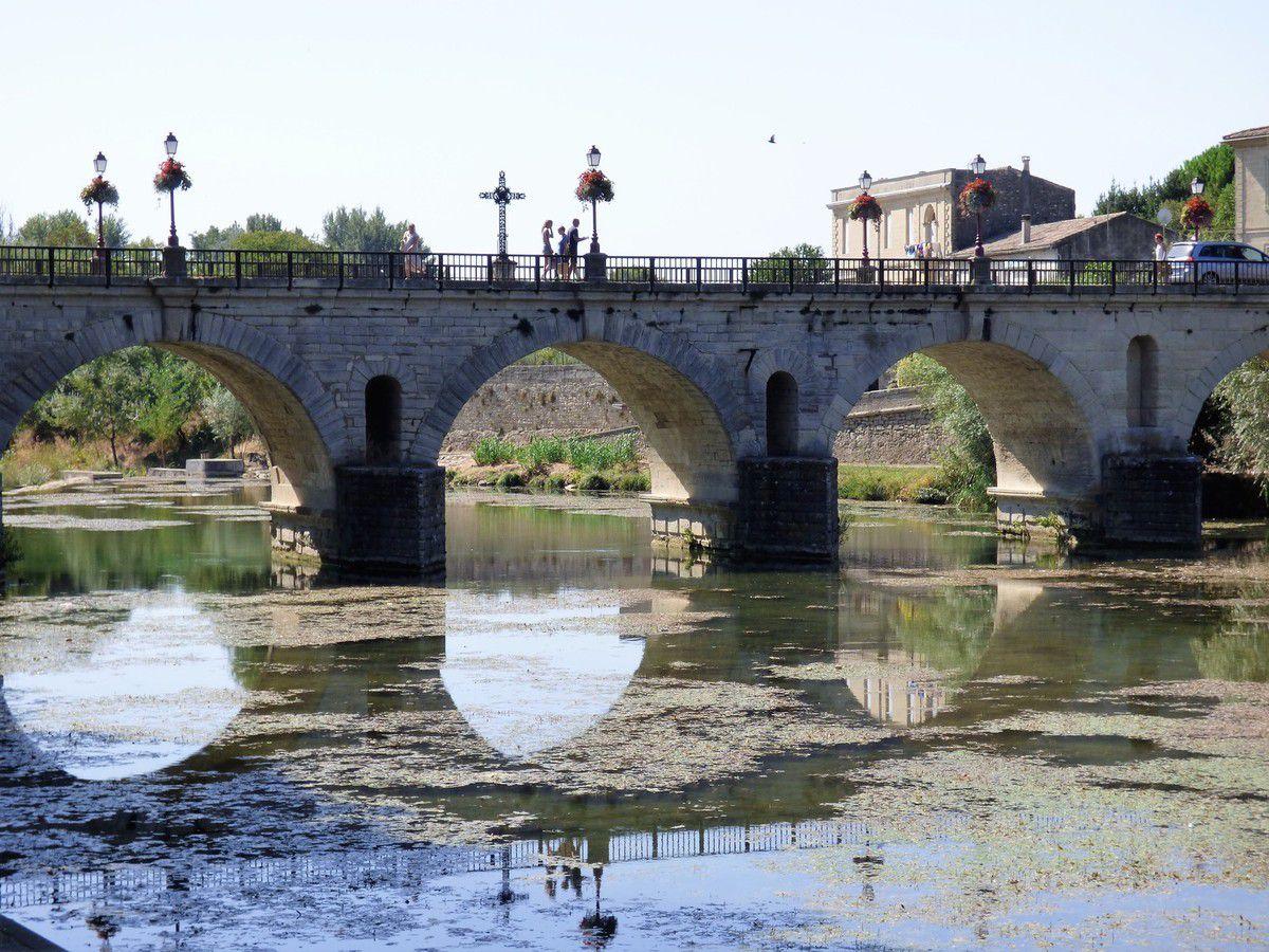 Le pont et le Vidourle