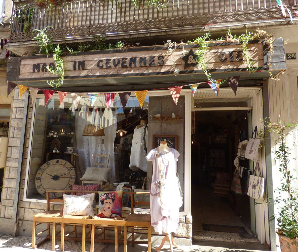 "La jolie boutique ""Made in Cévennes and Cie"""