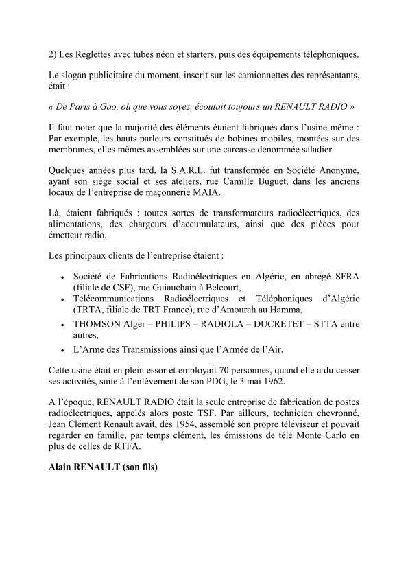 Jean RENAULT, Un Industriel en Avance sur son Temps.