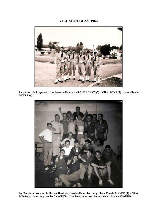 Trois Hussein-Déens au Petit Clamart le 22 août 1962.