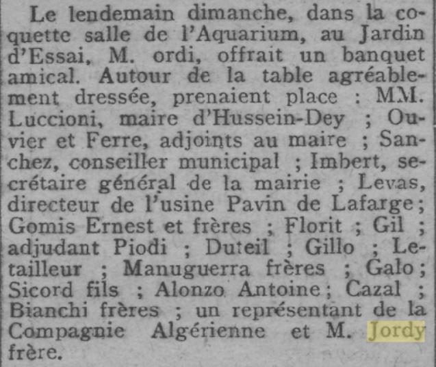 D'où vient le nom de quartier JORDI ?