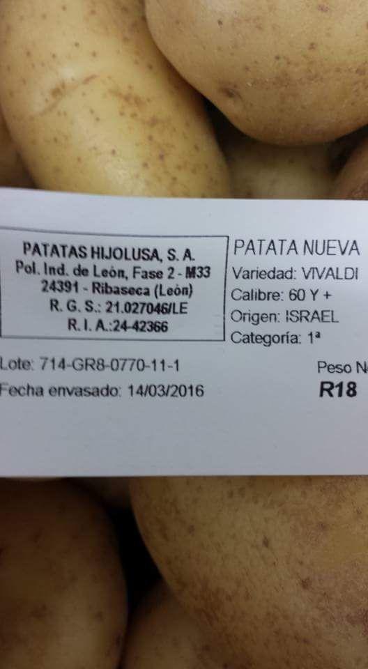 Mercadona nos vende patatas israelíes mientras que agricultores españoles tiran las cosechas