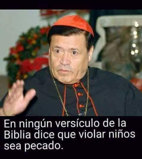 Cardenal Norberto Rivera: Dios ya perdonó a los sacerdotes pederastas