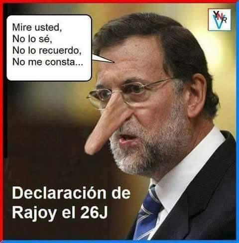 Resumen de la declaración de Rajoy ante el Tribunal