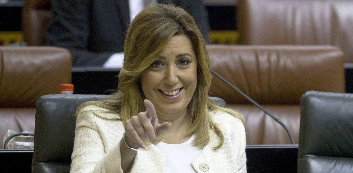 A Susana Díaz y su marido el 'tieso' les sale a devolver la declaración de la renta