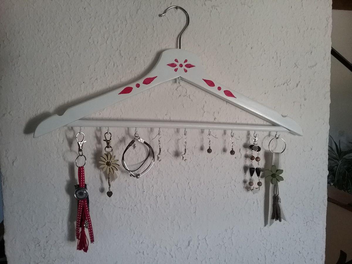 Le cintre porte-bijoux