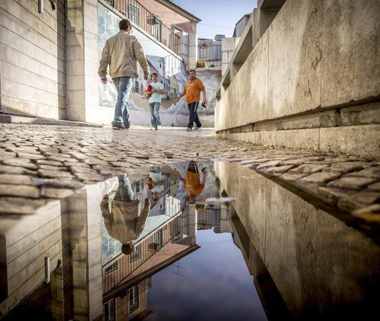 reflets de la ville